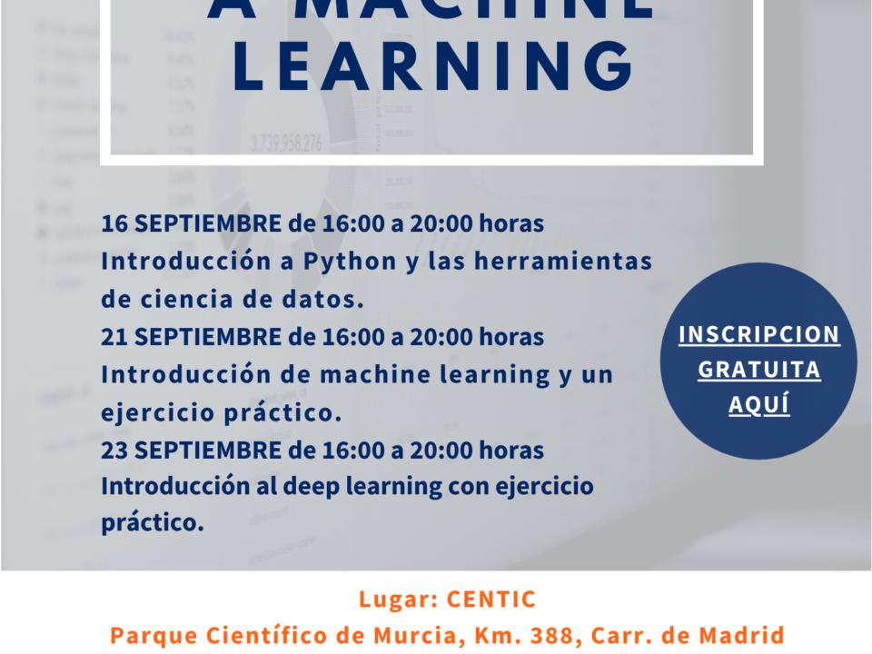 CTCON organiza un curso sobre Machine Learning 19 FRECOM
