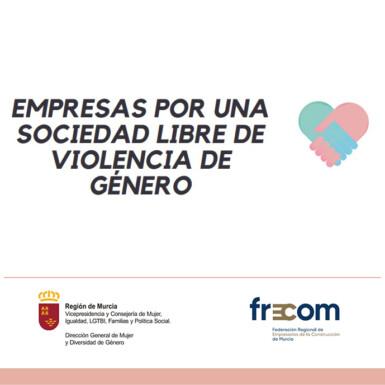 FRECOM se adhiere a la III Edición de la Iniciativa Empresas por una sociedad libre de violencia de género 1 FRECOM